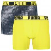 Puma 2PACK pánské boxerky Puma sportovní vícebarevné (591010001 260) XL