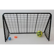 Masszív svéd fém focikapu 110x70x50 cm