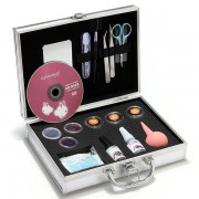 New Pro False Eyelashes Eye Lash Extension Set Kit Case