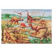 Melissa Doug puzzle de podea cu dinozauri