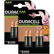 Duracell Pré-Chargée AAA 800mAh -Blister de 8 (BUN0043A)