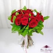"Buchet 27 trandafiri rosii ""Red Naomi"""