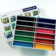 Staedtler Colouring Pencils - 288 classic hexagonal shaped colouring pencils produced from renewable timber sources. 12 assorted colours.