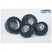 Bruder ruote gemelle cerchione grigio per premium-pro 03315