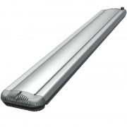 ecoheat HeatBAR Deluxe Infrarot-Dunkelstrahler (Grösse: Small, Farbe: Silber)