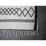 HSM Collection tapis Borris - noir/blanc - 180x120 cm - Leen Bakker