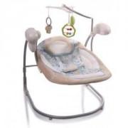Електрическа бебешка люлка Cangaroo Yoyo, бежова, 3563301