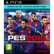 PS3 Pro Evolution Soccer 2018 Premium Edition
