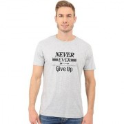 Double F Tshirt For Men Round Neck Half Sleeves Men's Printed Quotation TshirtS