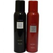 Avon Little Black Red Dress Body Each 150 Ml Combo Set (Set Of 2)