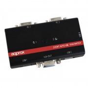Approx APPKVMUSB2PA2 Comutador KVM USB/VGA