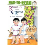 Romulus and Remus Level 2 Ready-To-Read, Paperback/Anne Rockwell
