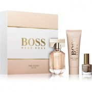 Hugo Boss Boss The Scent lote de regalo VI. eau de parfum 30 ml + crema corporal 50 ml + esmalte de uñas 4,5 ml
