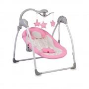 Cangaroo Ljuljaška za bebe Jessie Pink sa svetlom i daljinskim upravljačem (CAN7836)