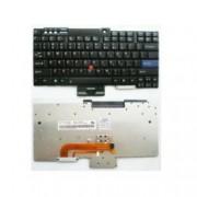 Клавиатура за IBM Lenovo ThinkPad T60/T61/R60/R61/Z60T/Z61T/Z60M/Z61M/R400/R500/T400/T500/W500, оригинална, US, черна