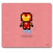 Mouse Pad Homem de Ferro Pixel Marvel