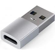 Adaptor Satechi ST-TAUCS, USB Type-C - USB (Argintiu)