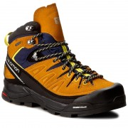 Туристически SALOMON - X Alp Mid Ltr GTX GORE-TEX 393251 27 V0 Navy Blazer/Bright Marigold/Empire Yellow