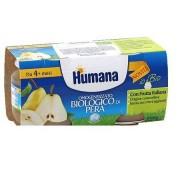 Humana Italia Humana Omogeneizzato Pera Bio 2 Vasetti 100 G