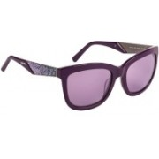 SWAROVSKI Retro Square Sunglasses(Violet)