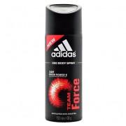 Adidas Team Force dezodorant w sprayu - 150ml DARMOWA WYSYŁKA DO WSZYSTKICH ZAMÓWIEŃ POWYŻEJ 500ZŁ !!!