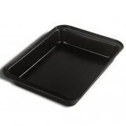 Tava cuptor teflon 42.5 x 29, otel carbon acoperire antiaderenta, Vanora