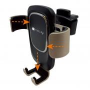 Supporto da auto per Smartphone con sistema a gravità