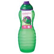Sticla din plastic cu capac Sistema TWIST'N'SIP Davina 700 ml