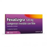 Sanofi Spa Fexallegra 120 Mg Compresse Rivestite Con Film 10 Compresse In Blister Pvc/Pvdc/Al