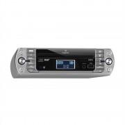 Auna KR-400 CD, кухненско радио, DAB + / PLL FM, CD / MP3 плеър сребристо (MG-KR-400 CD SI)