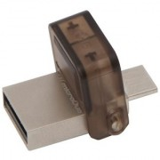Kingston Data Traveler MicroDuo 16 GB OTG Drive (Multicolor Type A To Micro USB)