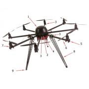 UAV B oktokopter