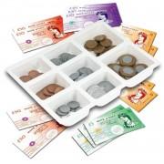 Galt speelgeld briefjes en muntjes ponden 100-delig