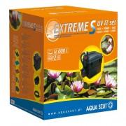 AQUA SZUT EXTREME S 12 SET tartalmaz UV 9W + PO 001 szivattyú + cső + 3 fúvóka