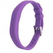 EH Fitbit-flex2 Smart Bracelet Silicona Sustitución De La Correa De La Correa De La Muñeca Carga Púrpura