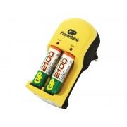 GP 202099 - GP PowerBank S350 inkl 2 st 2100mAh AA NiMH-batterier