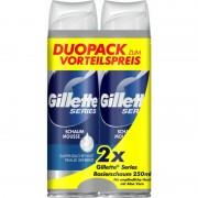 Gillette Series Foam Mousse Sensitive 2 x 250 ml Rakskum