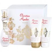 Christina Aguilera Woman coffret I. Eau de Parfum 30 ml + gel de duche 50 ml + leite corporal 50 ml