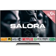 Salora 43UHX4500 LED TV 109,2 cm (43'') 4K Ultra HD Smart TV Wi-Fi Zwart