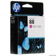 HP 88 Magenta Inkjet Print Cartridge, 10ml, EXP (C9387AE)