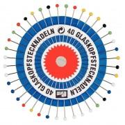 PRYM üvegfejű gombostű, 30mm, 40db, 029139