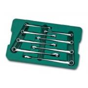 Set chei combinate lungi X-BEAM 8-19mm, 8 piese, Sata 08005