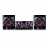 Minicomponente LG CJ44 480 Watts Bluetooth USB AUTO DJ-Negro
