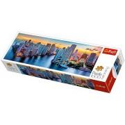 Puzzle clasic - Miami la Apus 1000 piese