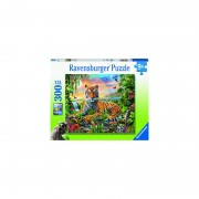PUZZLE TIGRU LA RASARIT, 300 PIESE - RAVENSBURGER (RVSPC12896)