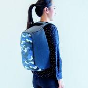 XD Design Bobby Compact anti-diefstal rugzak - Camouflage blauw