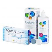 Acuvue Oasys (6 lenses) + Gelone Solution 360 ml