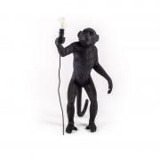 lámpara Monkey standing negra