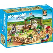 Playmobil 6635 - Parc Animalier Avec Visiteurs