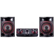 Sistem Audio LG CJ87, 2350 W, High Power, Dj Station, Bluetooth, USB (Negru)